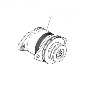 Зарядный генератор газового двигателя  Doosan GE08TI