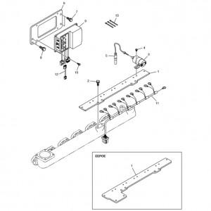 Электронная система зажигания газового двигателя Doosan GE08TI