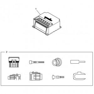 Запасные части газового двигателя Doosan GE08TI
