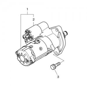 Стартер газового двигателя Doosan GE08TI