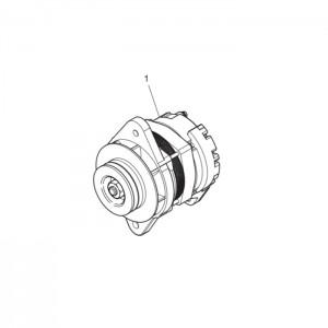 Зарядный генератор газового двигателя GV158TI
