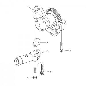 Масляный насос газового двигателя GV158TI