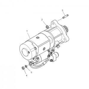 Стартер газового двигателя GV158TI