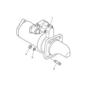 Стартер газового двигателя GE12TI