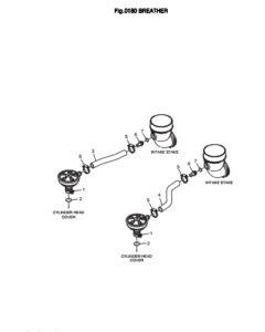 Сепаратор дизельного двигателя Doosan DP158LD и DP158LC