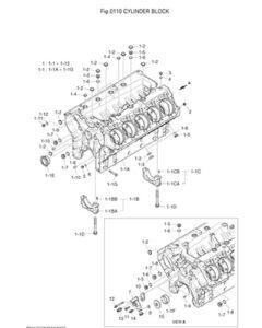 Блок цилиндров DP-180