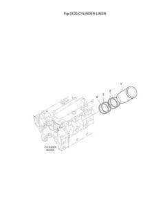 Гильза цилиндров DP-180