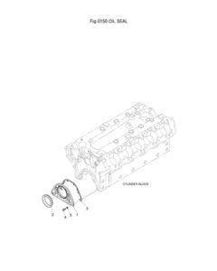 Масляный сальник DP-180
